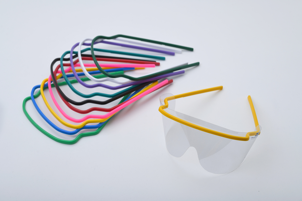 Eye Shields 30 Pre-Assembled Disposable Multicolor Frames