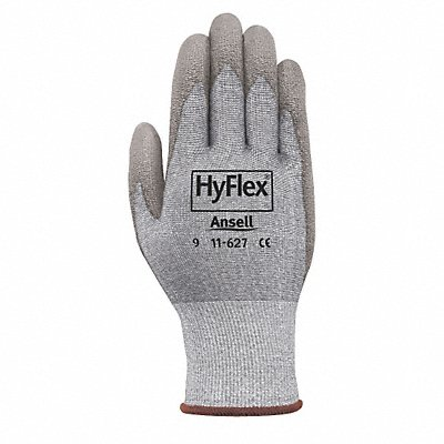 Polyurethane Cut Resistant Gloves ANSI/ISEA Cut Level 2 Dyneema? HPPE Lining Gray 10 PR 1