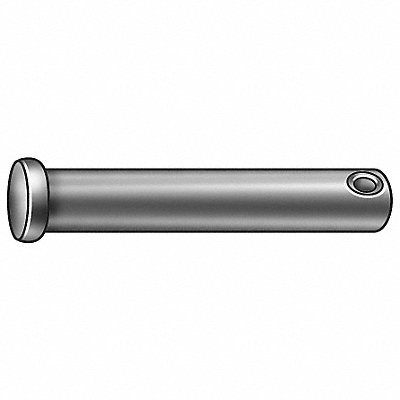Stainless Steel Clevis Pin 3 L 3/8 Pin Dia.
