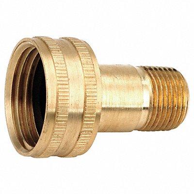 Low Lead Brass Female Swivel 3/4 FGH x 1/2-14 MNPT Connection