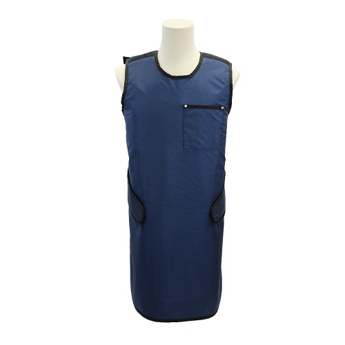 USAXRAY Zeus, Single Sided Leaded Apron, Crossed Back To Hook & Loop Front Tabs- 0.5Mm Pb Equiv. Li