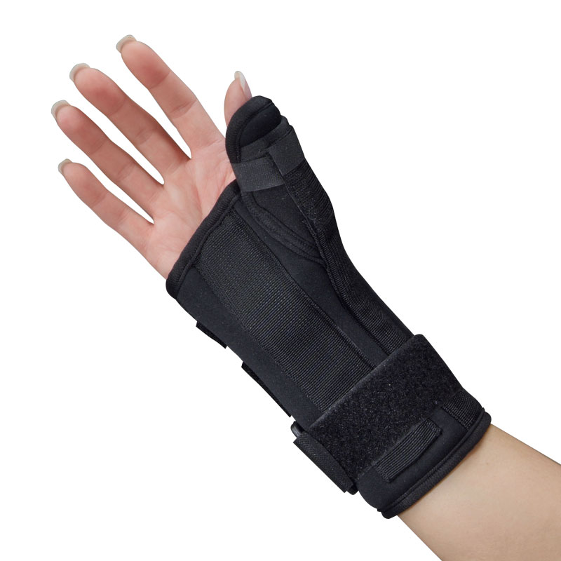 Premierpro Black Foam Wrist And Thumb Splint By S2s Global