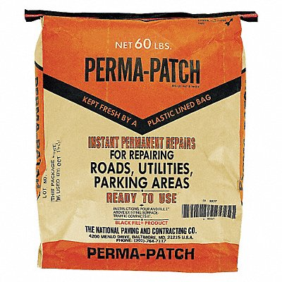Black Cold Patch 60 lb Bag Coverage 6 sq. ft @ 1 | Box of 30