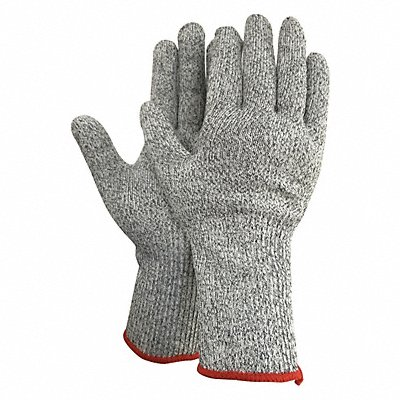 Uncoated Cut Resistant Gloves ANSI/ISEA Cut Level 4 HPPE Lining Gray M PR 1