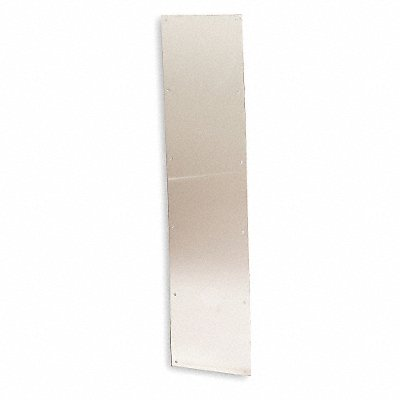 Door Protection Plate Brass Kick/Stretcher 8 Height 34 Width
