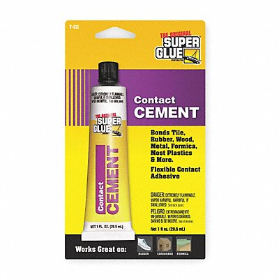 1 oz Acrylic Contact Cement Clear