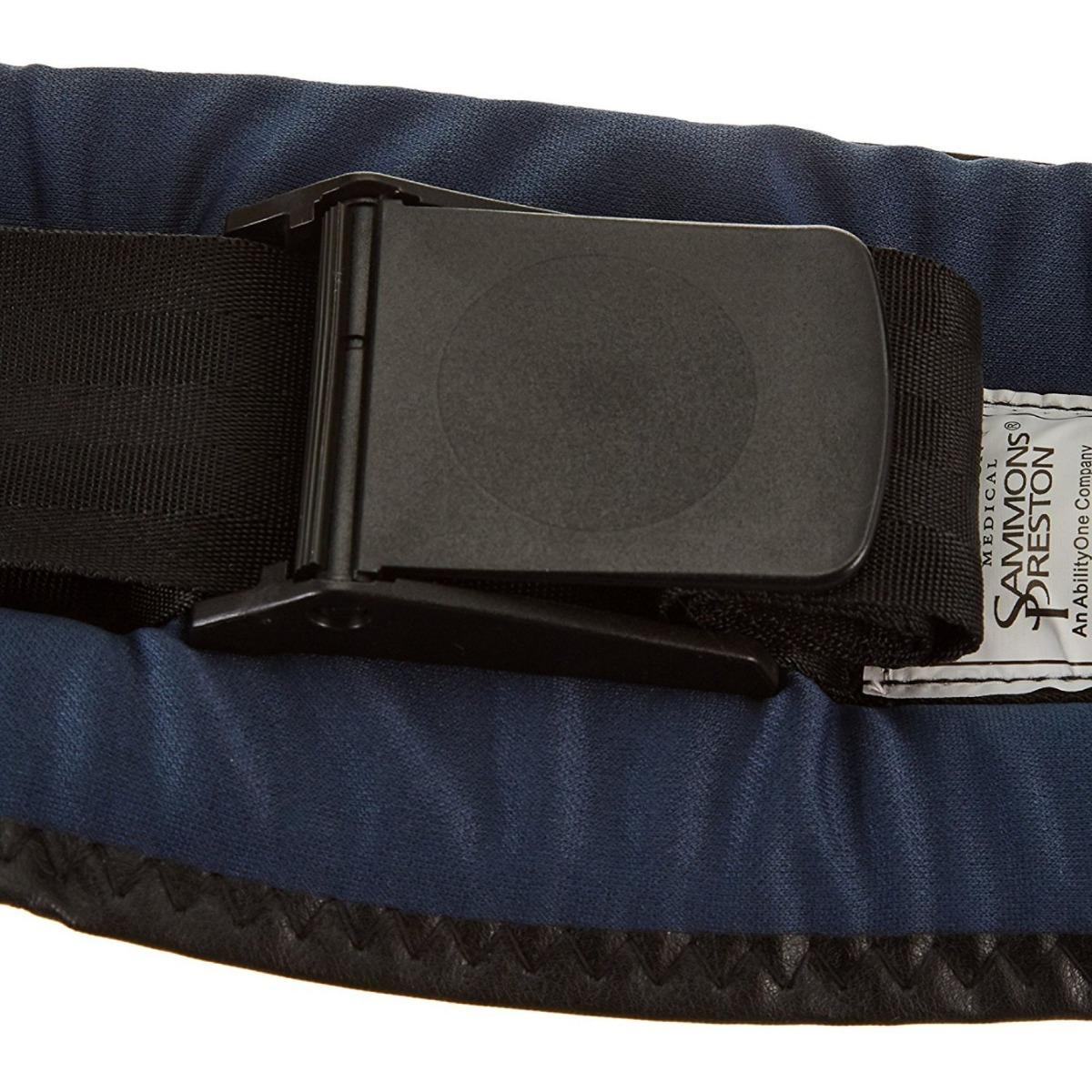 Sammons Preston Front-Release Padded Wheelchair Belt, Buckle Belt (cam lock)