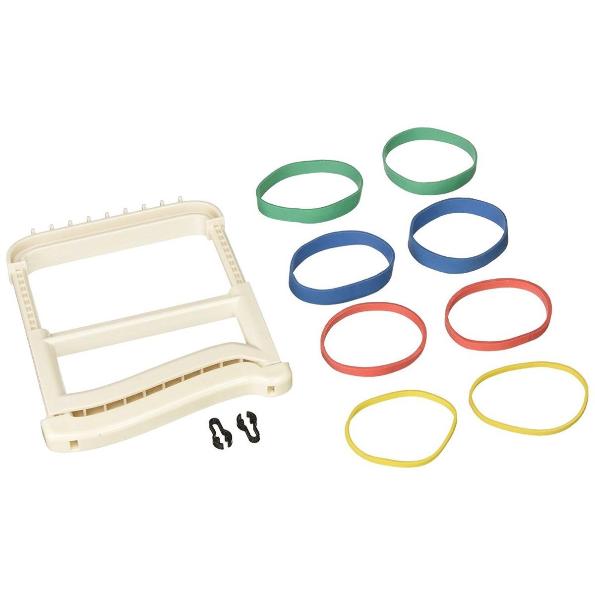 Rolyan Basic Ergonomic Hand Exerciser, White, Each