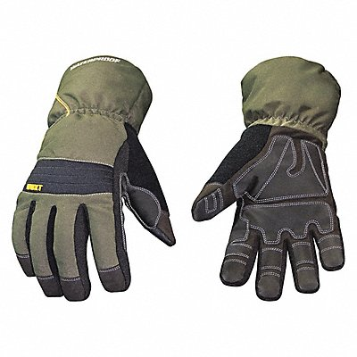 Cold Protection Gloves Waterproof Membrane 200g Thinsulate 100 Poly Tricot Lining Extended 4 G