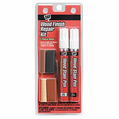 Wood Finish Repair Kit Multi Color Container Type Stick