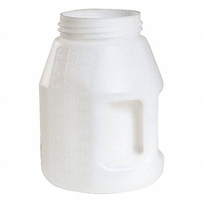 5 Liter Fluid Storage Container Drum 10.7 Height (In.) 7.7 Outside Dia (In.)