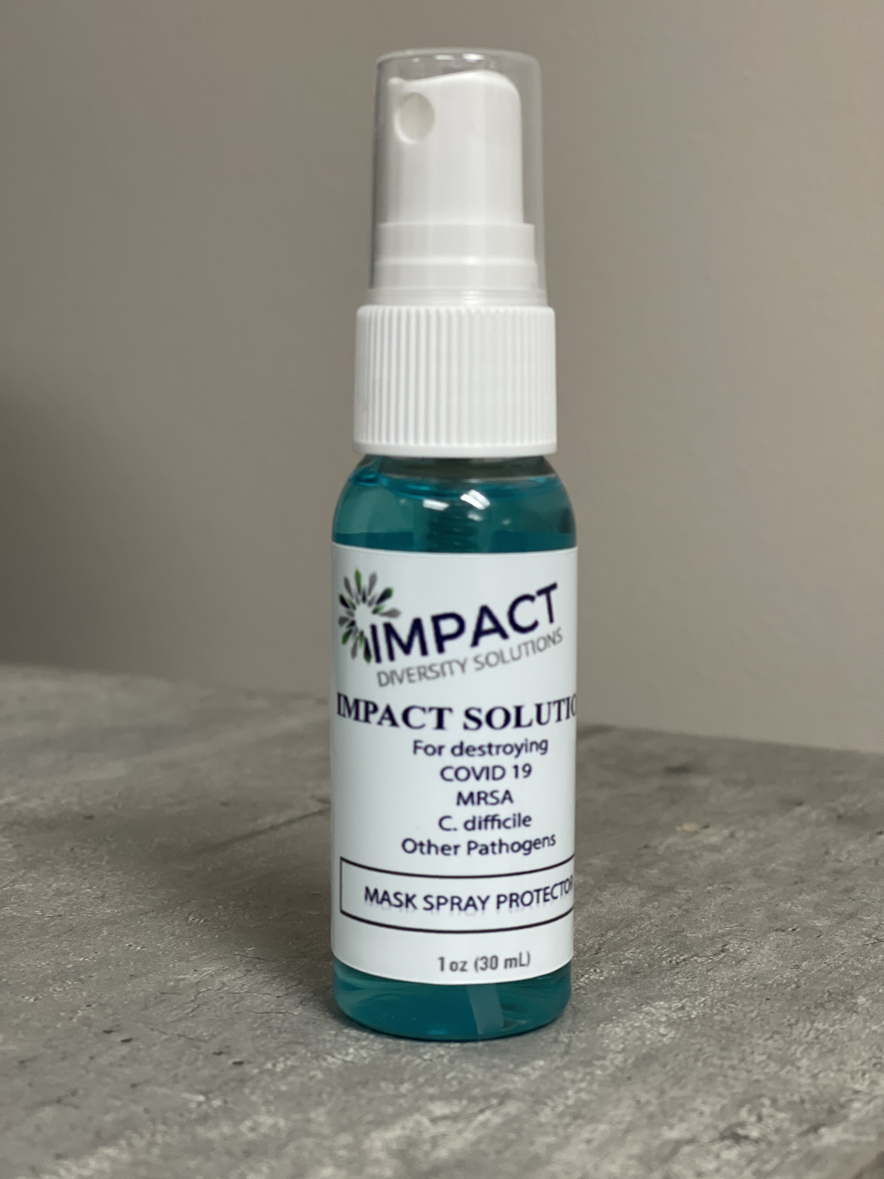 IDS Mask Spray Protector and Sanitizer/Infection Prevention