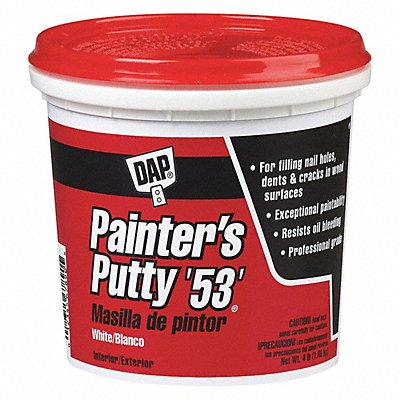 Wood Filler 1 qt. Size White Color Container Type Pail