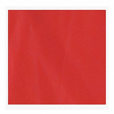 Disposable Flag Red Square 12 x 12