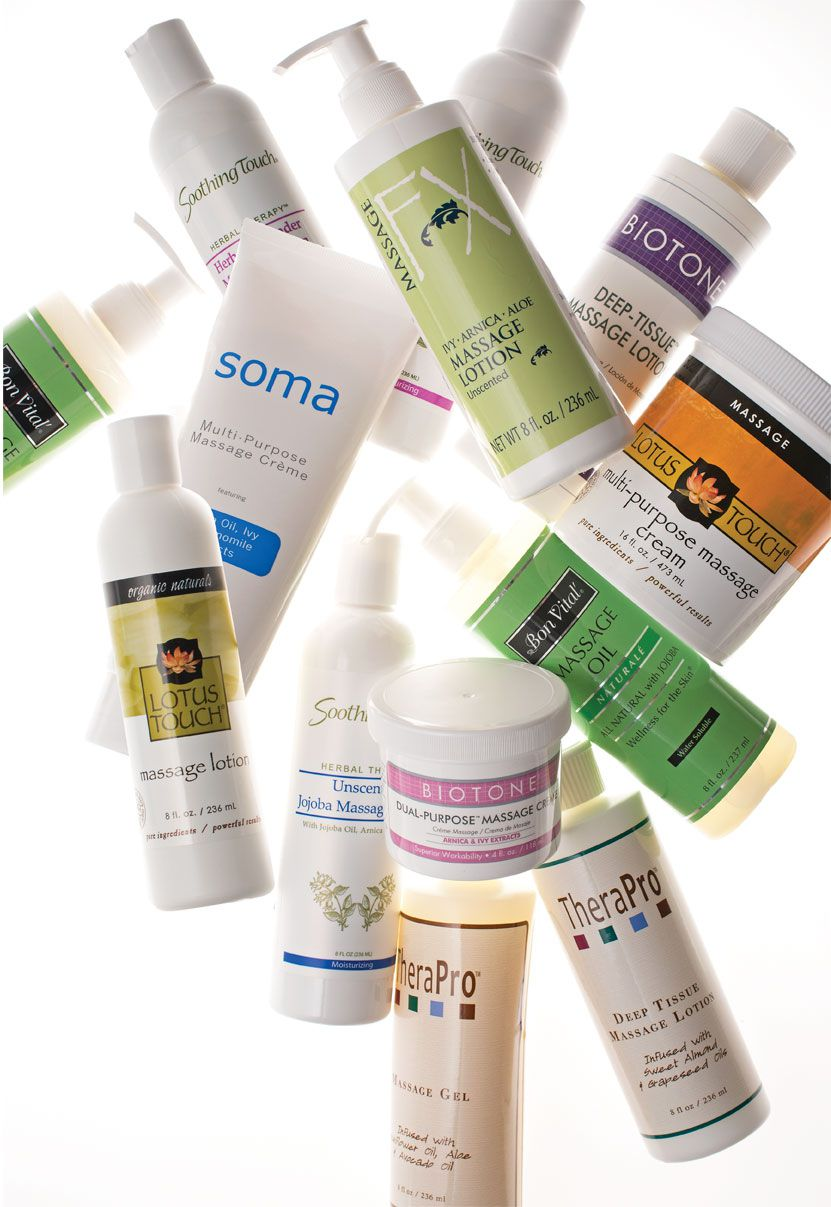 Mix 'N' Match Massage Oils, Creams and Lotions - Select 3