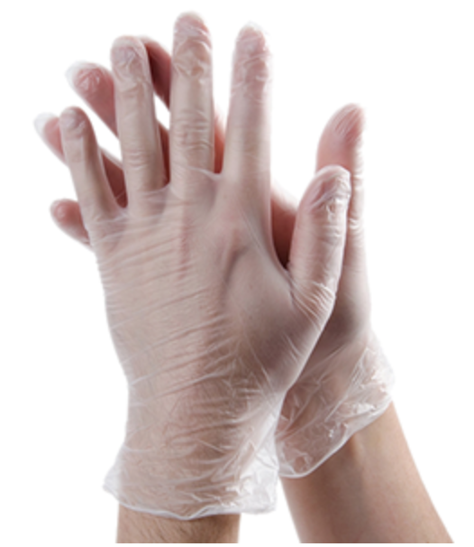 Vinyl Gloves, 1000 gloves per case