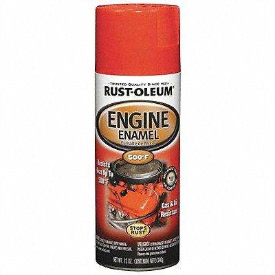 Engine Enamel Ford Red 12 oz Spray