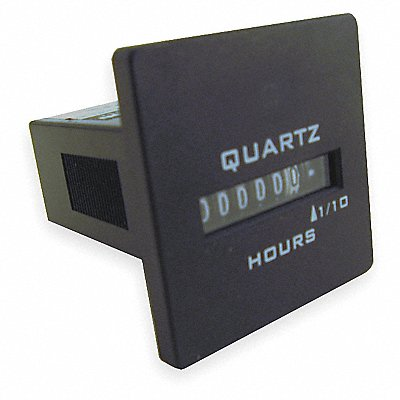 Hour Meter 120 to 240VAC Operating Voltage Number of Digits 6 Square Bezel Face Shape
