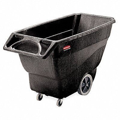 Black Tilt Truck 20.4 cu ft Capacity 600 lb Load Capacity