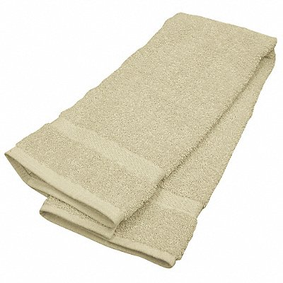30 x 16 100 Cotton Hand Towel Beige PK12