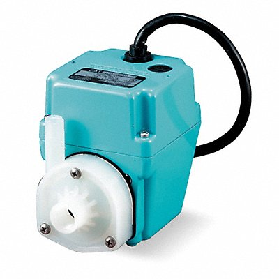 1/40 HP Compact Submersible Pump 115V Voltage Continuous Duty 6 ft Cord Length