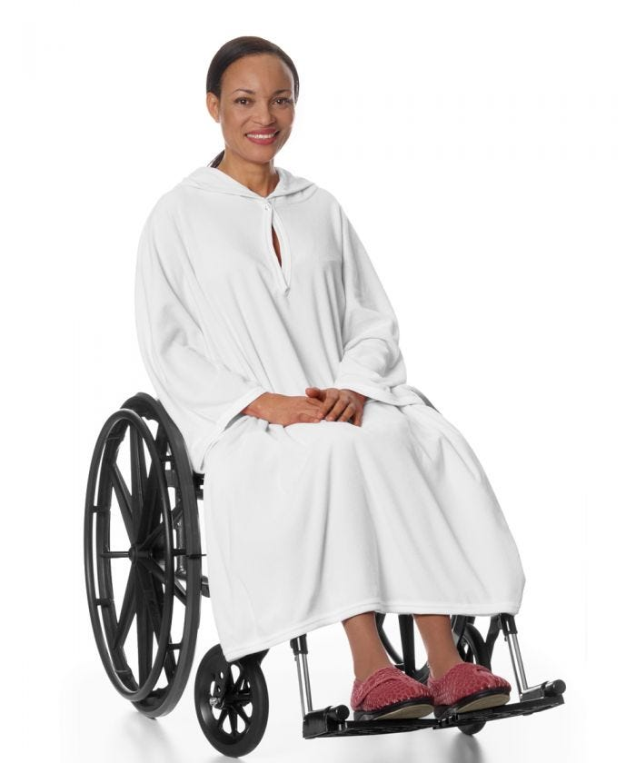 Shower Cape Terry