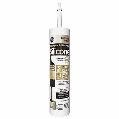White Sealant Silicone 10.1 oz Cartridge