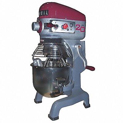 20 qt. Floor/Bench Food Mixer 3 Speeds