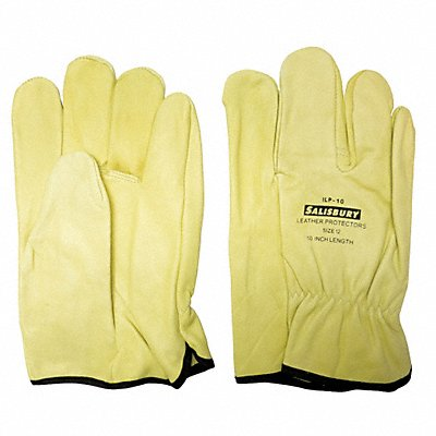 Electrical Glove Protector Cream Import Cowhide 10 Length