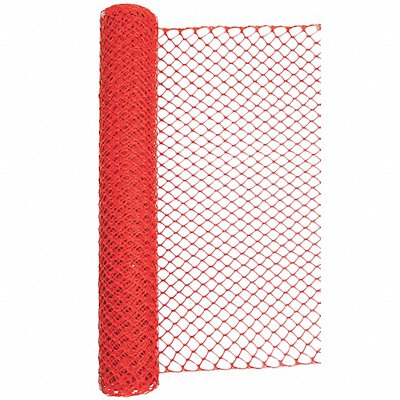 Barrier Fence 1-3/4 x 1-3/4 Mesh Size 4 ft Height 50 ft Length