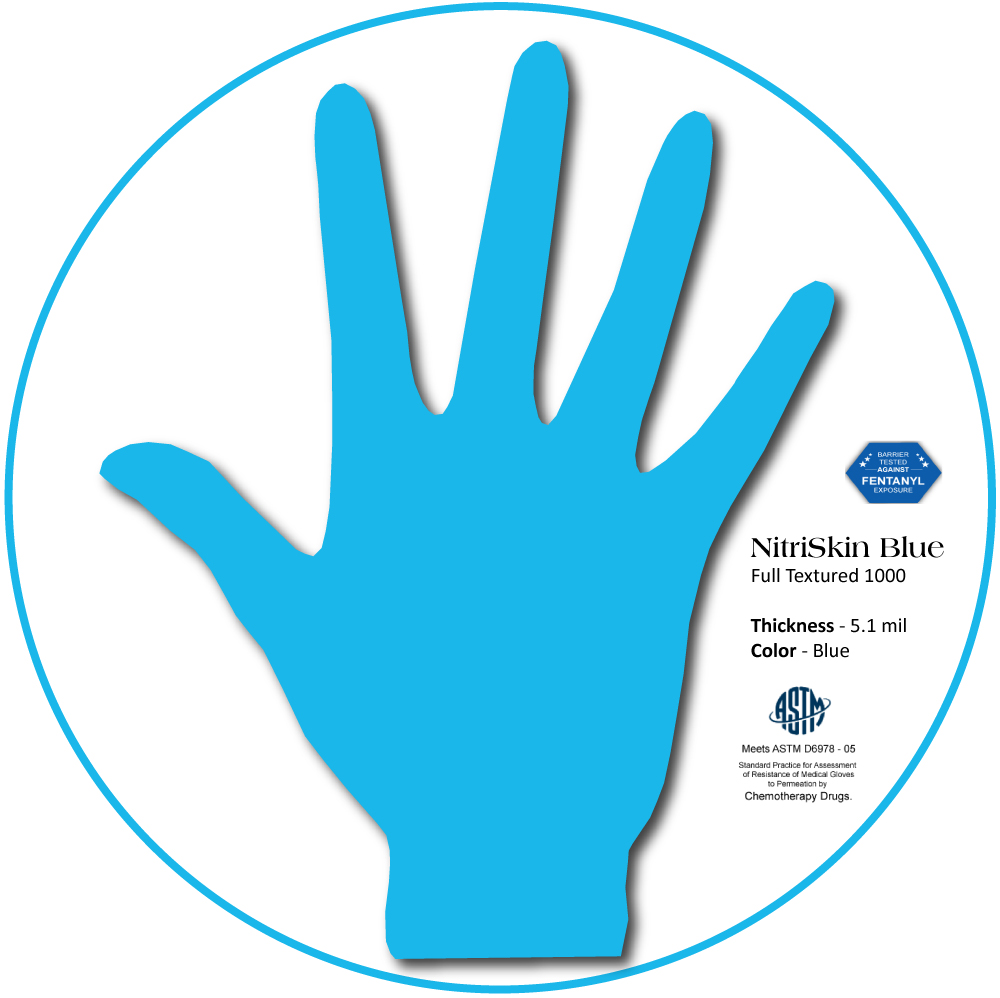 Medgluv NeuSkin Ultra Synthetic Vinyl Exam Gloves,Stretch, Beaded cuff, Beige, 100/box, 1000/case
