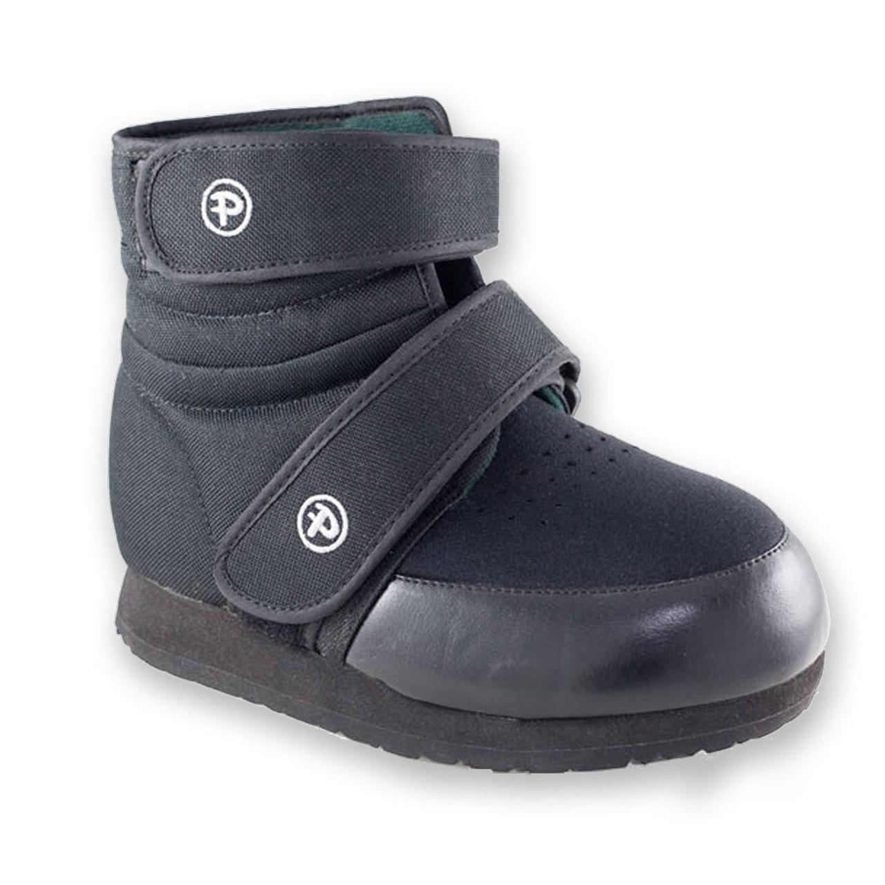 Pedors Unisex High-Top Black Orthopedic Boots (Pair)