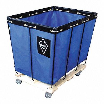 Blue Vinyl Basket Truck 15.0 cu ft. 600 lb. 36 L X 26 W X 34 H