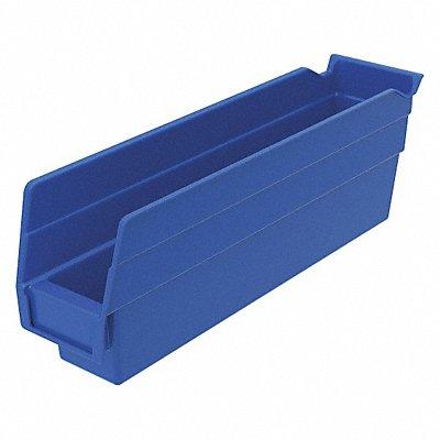 Shelf Bin Blue 4 H x 11-5/8 L x 2-3/4 W 1EA     Box of 24