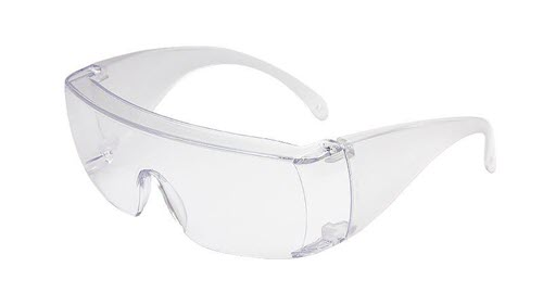 Safety Glasses - Full Coverage | Box of 10