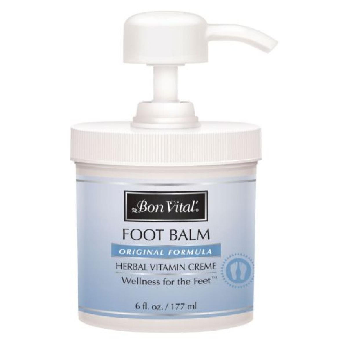 Bon Vital Foot Balm, 6 oz.