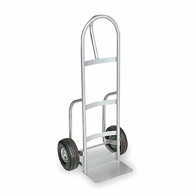 Hand Truck 400 lb Load Capacity Continuous Frame Loop 14 Noseplate Width
