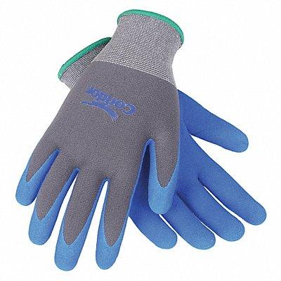 13 Gauge Sandy Nitrile Coated Gloves Glove Size 2XL Gray/Blue