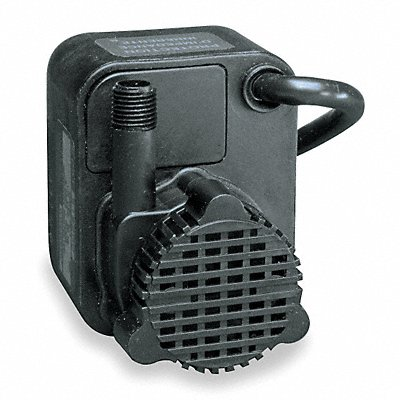 1/125 HP Compact Submersible Pump 115V Voltage Continuous Duty 6 ft Cord Length