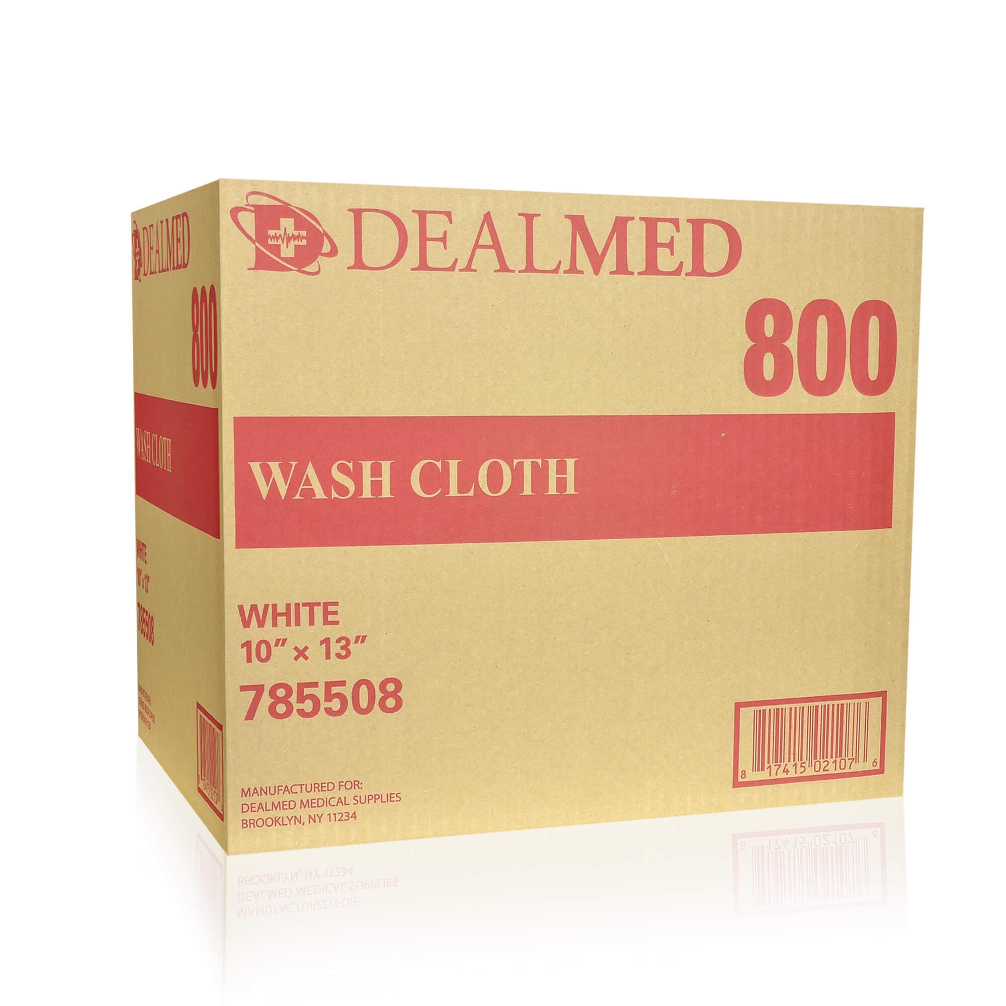 "Washcloth Dry Airlaid 10"" x 13"", 800/Cs"