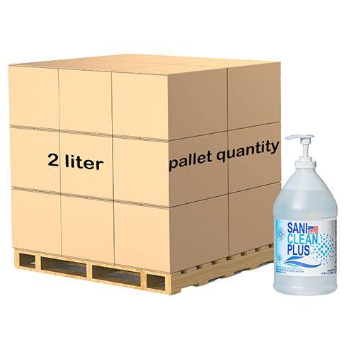 Hand Sanitizer Unscented Gel 67 FL. OZ. Bottle With Pump ($15.83 Per Bottle) Pallet Of 240 Bottles