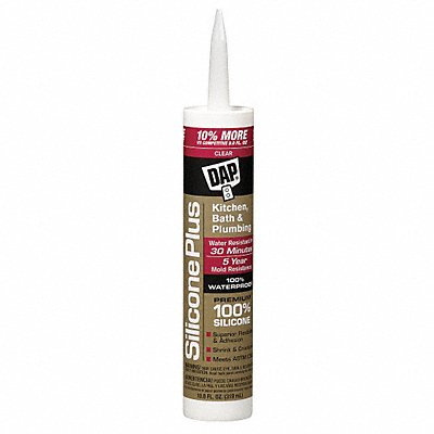 Clear Sealant Silicone 10.1 oz Cartridge