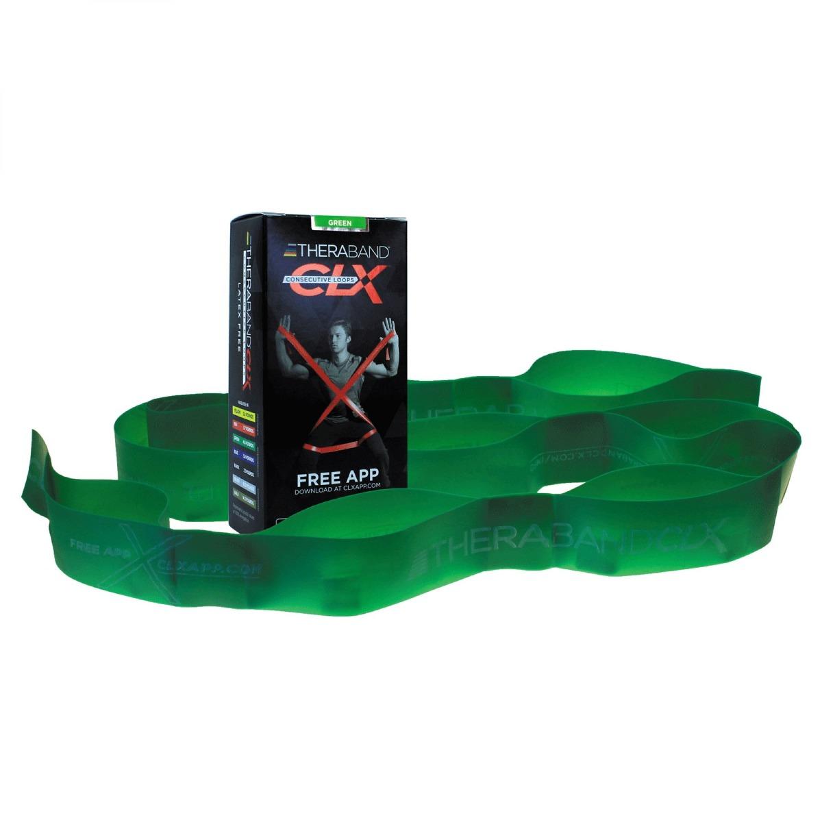 TheraBand CLX - Consecutive Loops, 3, Individual 5-Foot