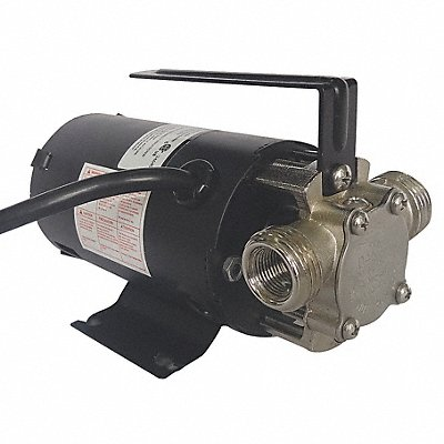 1/10 HP Nickel-Plated Brass Compact Flexible Impeller Utility Pump Intermittent