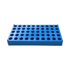 Vial Rack, 50 2ml Vials, Blue