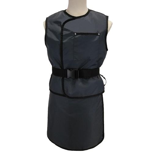 USAXRAY Olympia, Lead Free Wrap Skirt & Vest W/Cinch Belt- .35Mm Pb Equiv. Front, .25Mm Pb Equiv. B