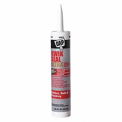 White Caulk Acrylic 10.1 oz Cartridge