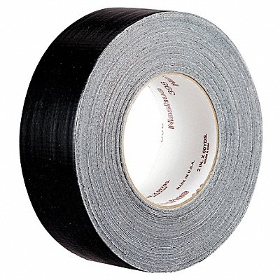 Industrial Duct Tape 48mm X 55m 11.00 mil Thick Black Coated Cloth 1 EA