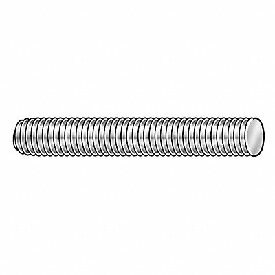3/8 -16x2 ft. Threaded Rod Steel Low Carbon Hot Dipped Galvanized
