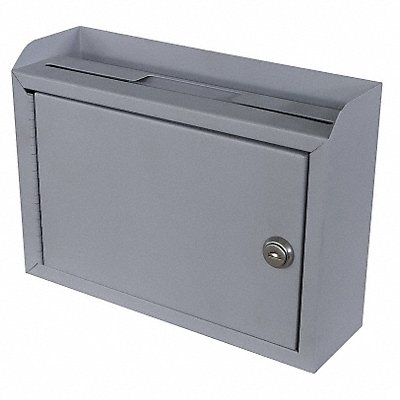 Suggestion Box Steel Gray 3 in D